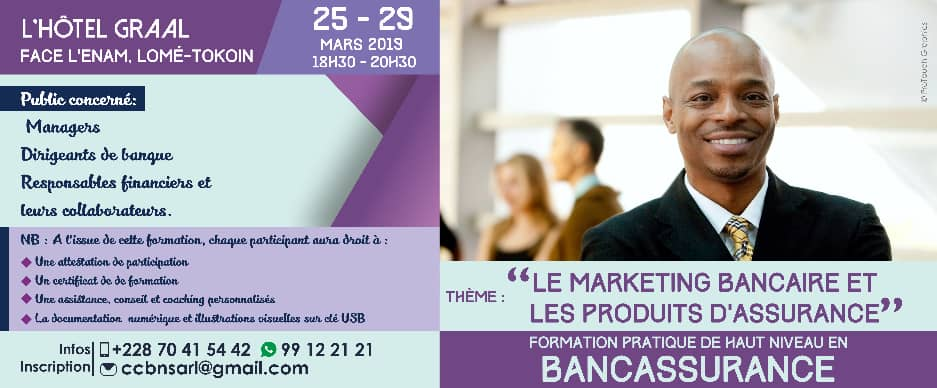 marketing bancaire ccbn togo