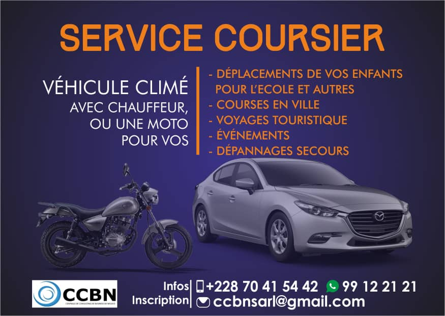 ccbn togo service coursier