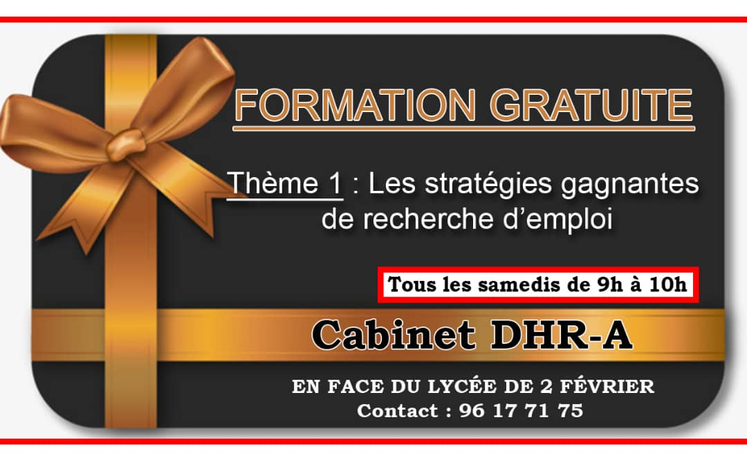 drh agency togo formation gratuite