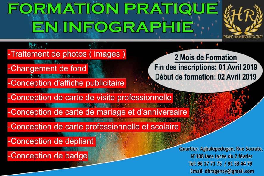 drh agency togo formation pratique enn infographie