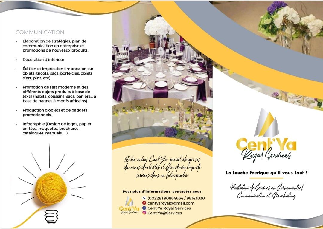 Cent'Ya Royal Services presentation 1