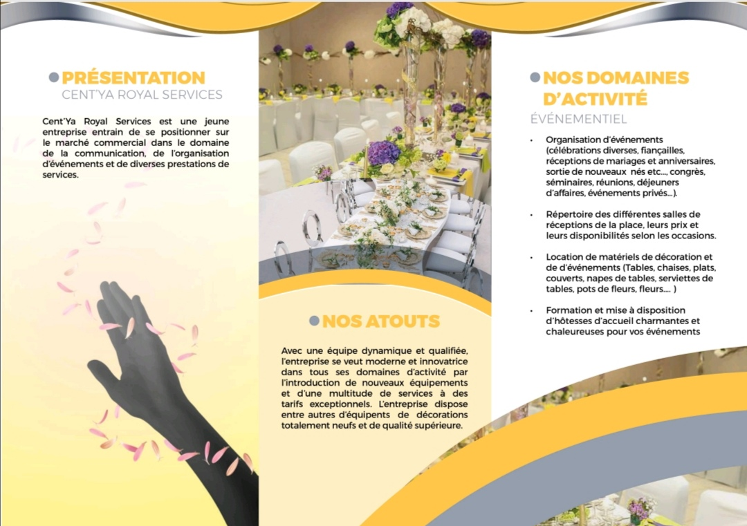 Cent'Ya Royal Services presentation 2