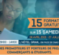 15 SPECIALES FORMATIONS GRATUITES – CCBN TOGO