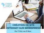 Formation digitale-Formation en création de Site Internet sur WordPress